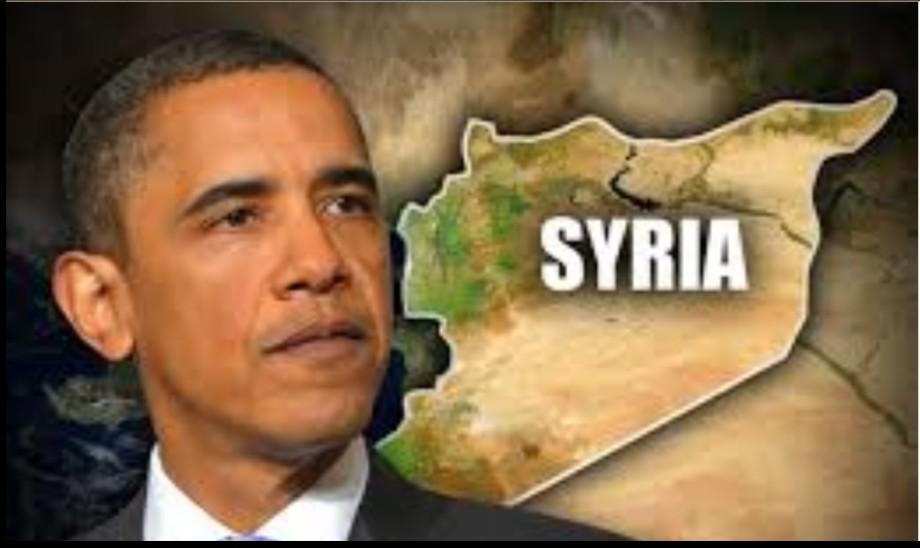 OBAMA's corrupt Syrian plan