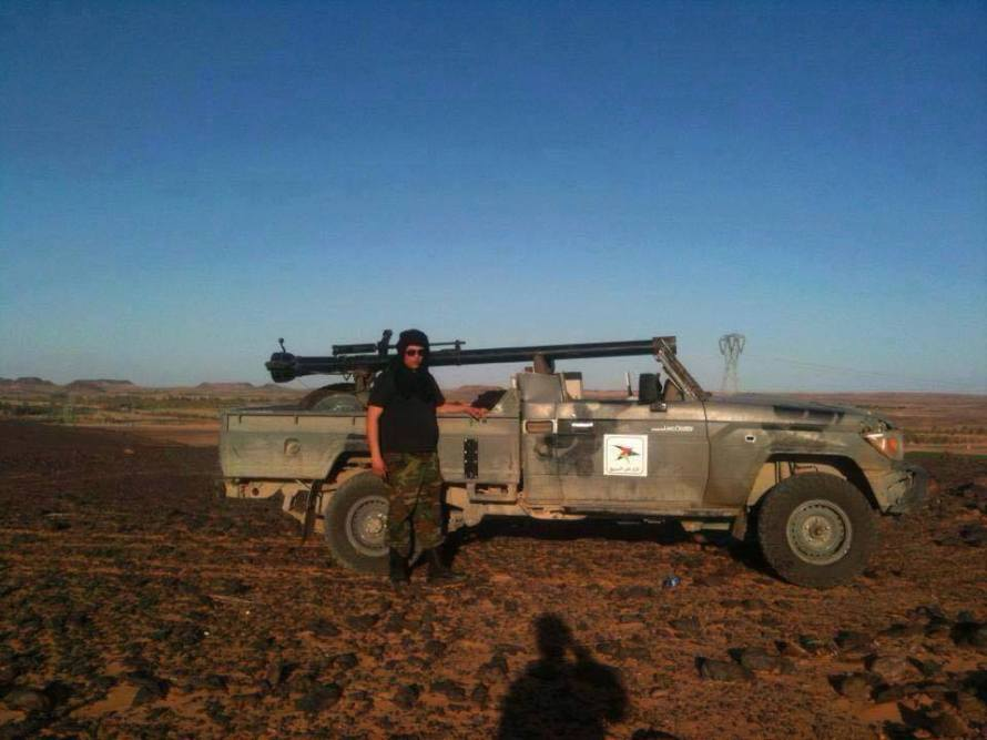'Roma Libya' militias at al-Jufra base