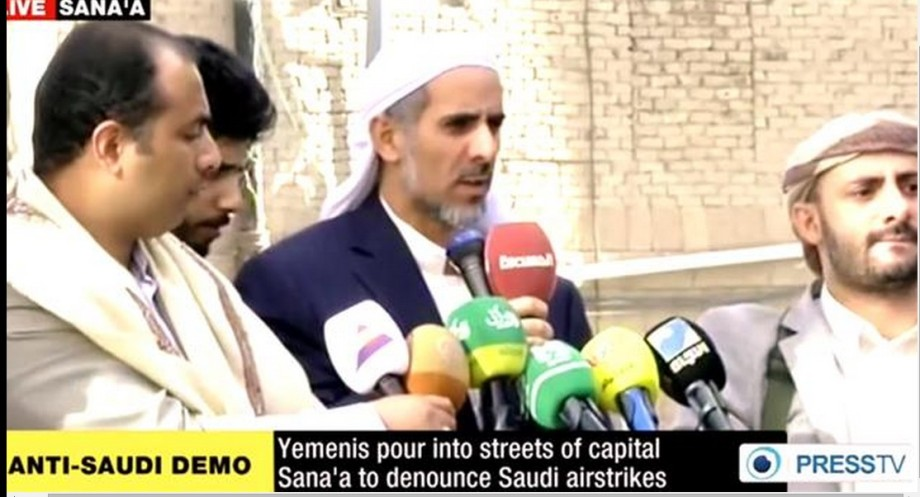 Saif al-Hadi, Yemeni-Houthi speaker of the people's 'Popular Committees'