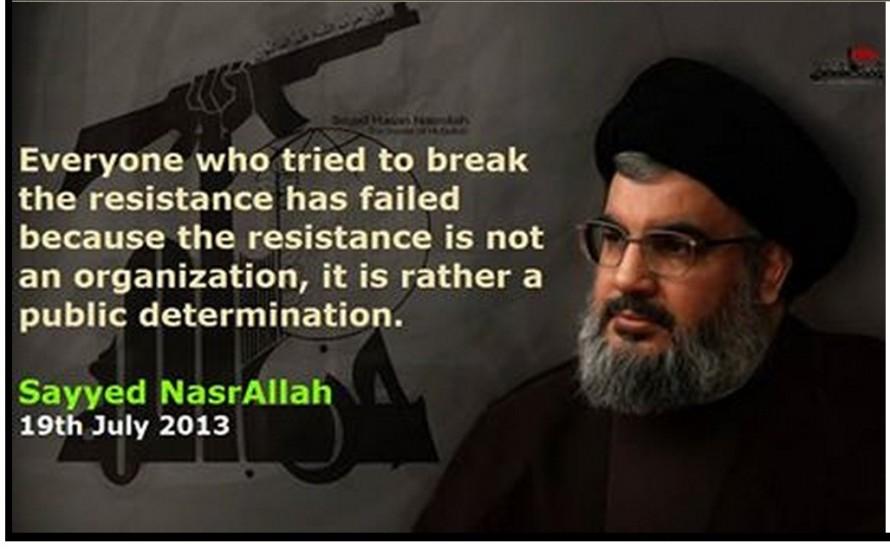 Seyyed Hassan Nasrallah quote
