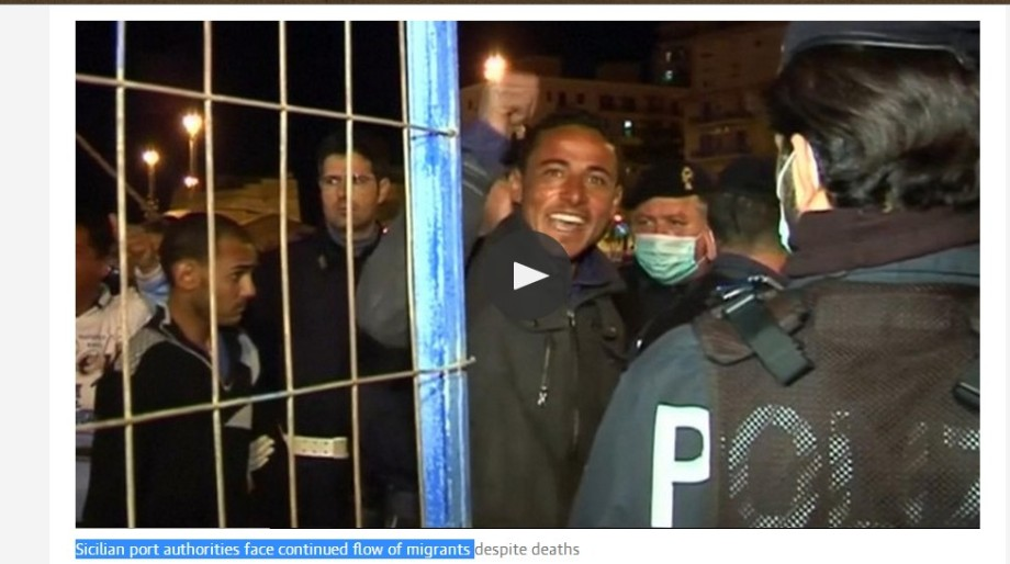Sicilian port authorities face continued flow of migrants