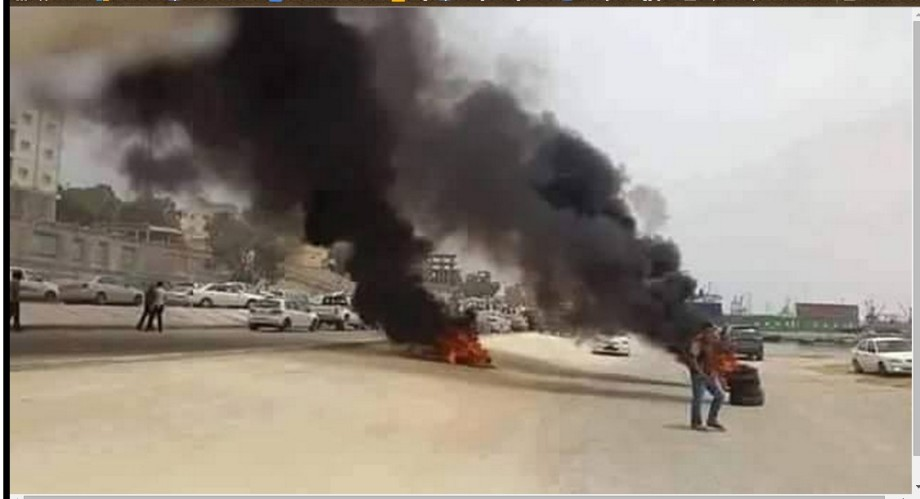Tobruk demonstrations 26 MAY 2015