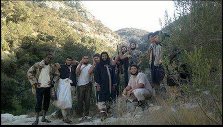 al-qaeda (DAASH)-in-the-mountains-of-Derna