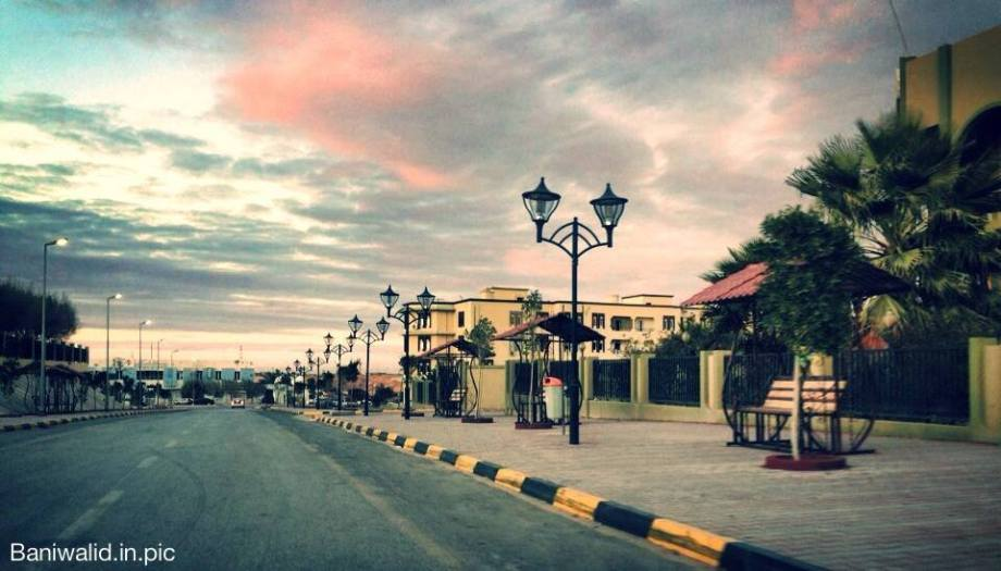 BANI WALID street scene