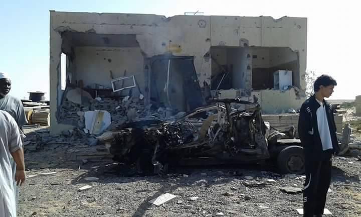 bombing Electricity at Nofaliya station, 2