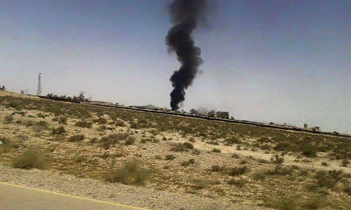 bombing of the airline company el-Dongah in South Ajdabiya