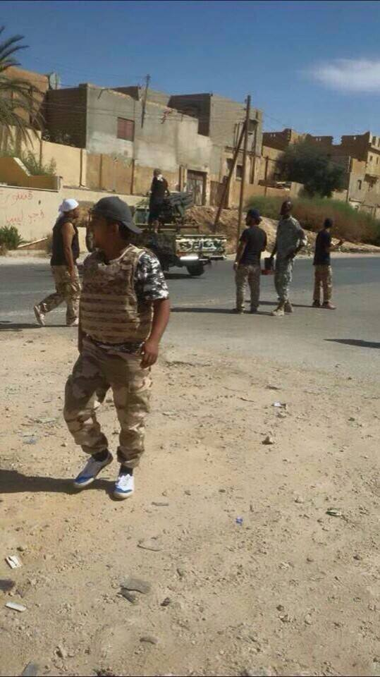 burning houses in Siraj, Got al-Shall, and Drebe (TRIPOLI)