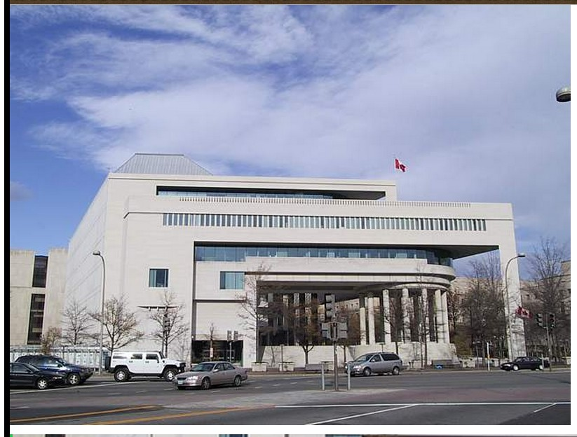 CANADIAN EMBASSY in Tripoli suspended