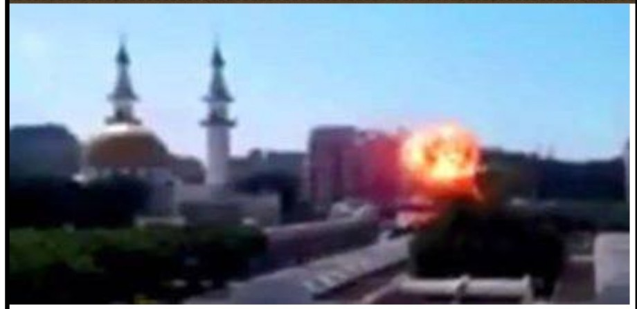 car bomb in Derna companions near a mosque