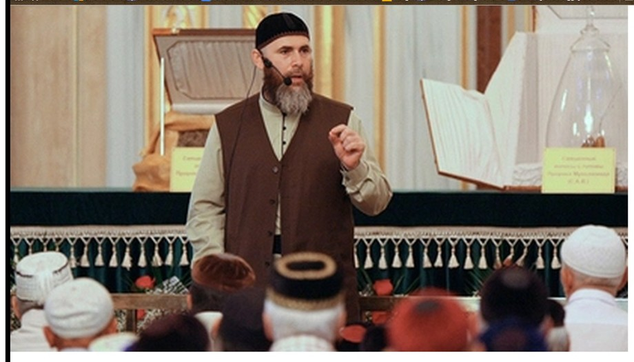 Chief Chechen mufti condemns Islamic State as enemies of religion in Russia