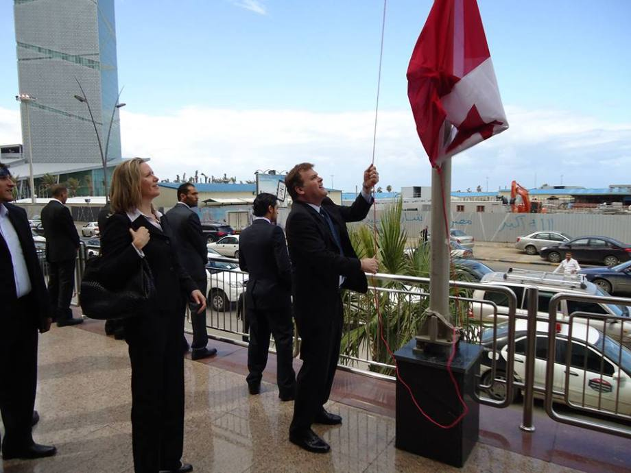 Closing the Canadian Embassy in Tripoli
