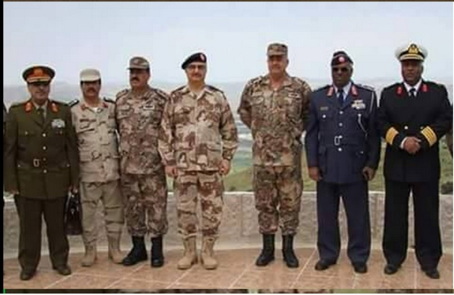 Commanders of the new LIBYAN ARMY