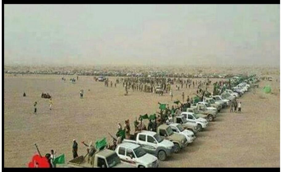 convoy Houthi Yemen ... without Ansfat