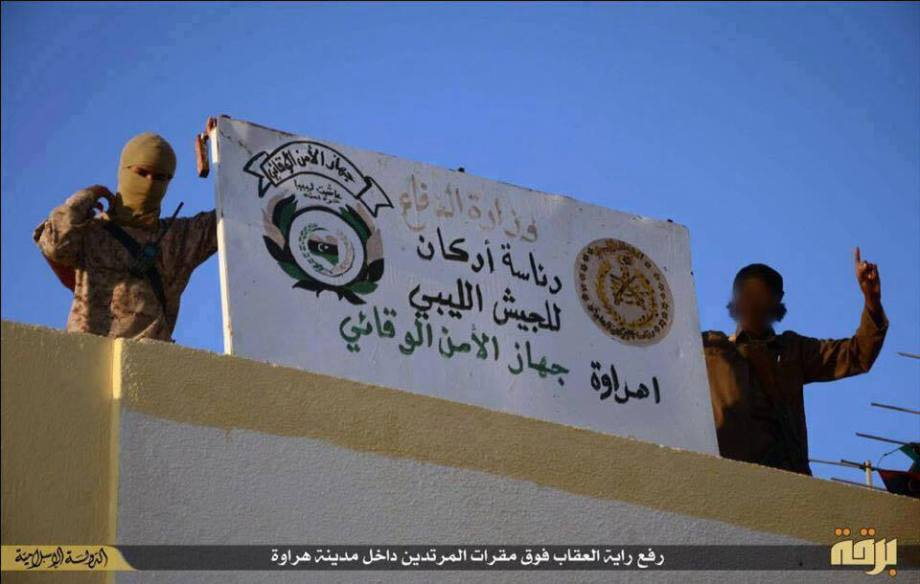 DAASH control over the buildings in the city of baton and remove the banner of February, 1