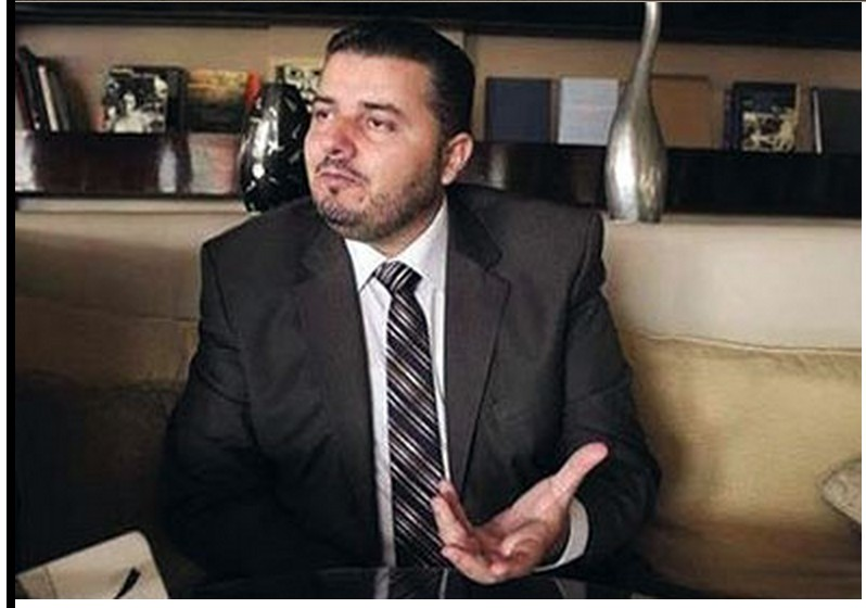 Dr. Omar al-Qoara, Libyan Minister of Information from the MAJLIS al-NUwaab's 'Interim Government'