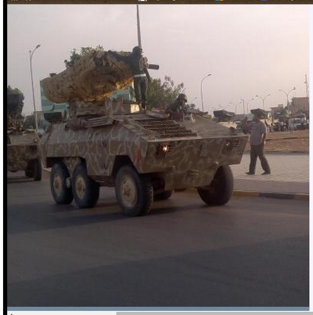 Libyan Army makes ready to liberate Tripoli