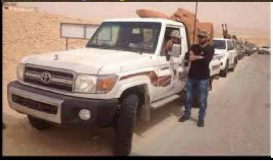 Misurata Militias re-occupy al-Jufra airbase