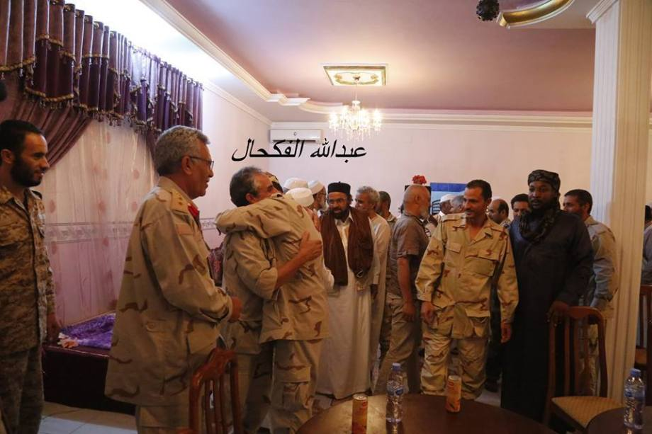 Our Army in the Western Region, Ramadan Breatfast in Beautiful City with sheiks, security and people of TZUN, RACDALIN, 2