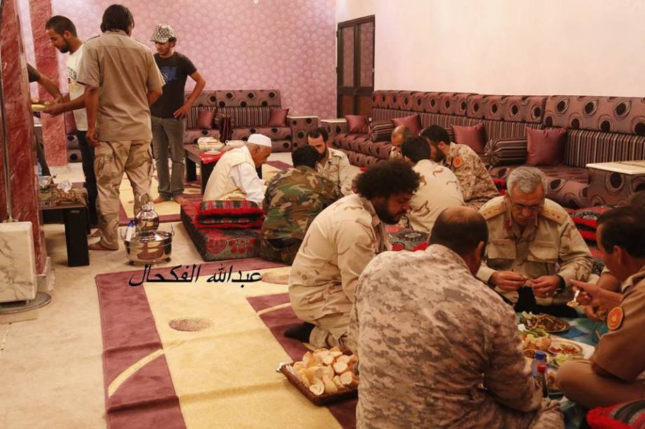 Our Army in the Western Region, Ramadan Breatfast in Beautiful City with sheiks, security and people of TZUN, RACDALIN, 3