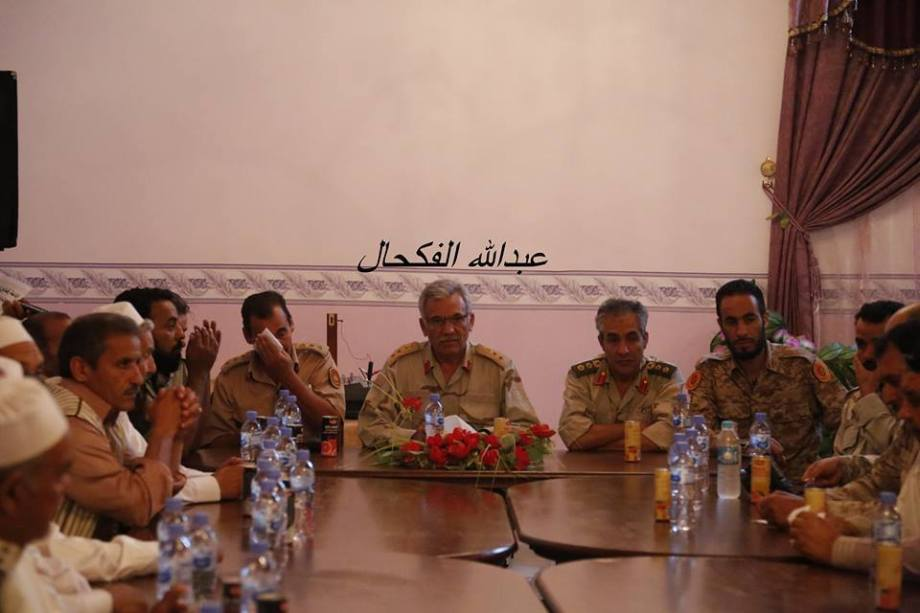 Our Army in the Western Region, Ramadan Breatfast in Beautiful City with sheiks, security and people of TZUN, RACDALIN