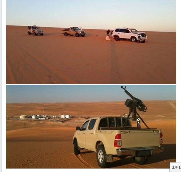 our LIBYAN ARMY FORCES stationed in the Wester border deserts