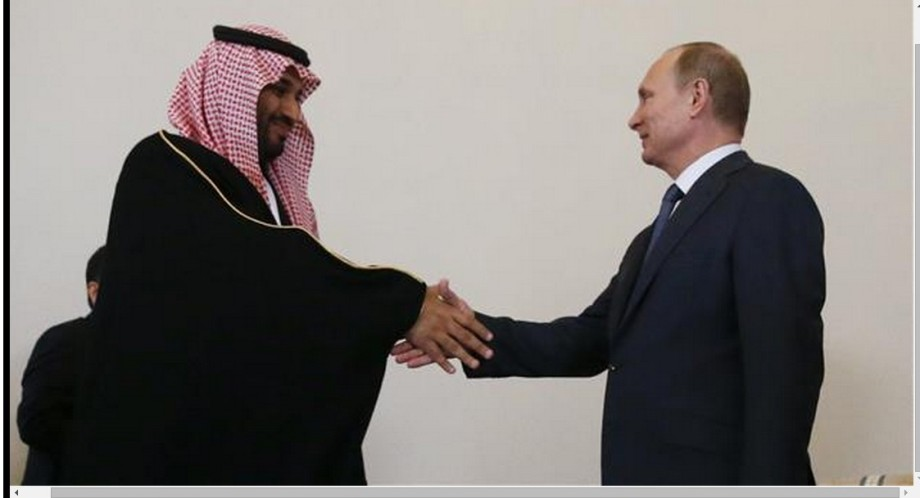 Putin meets Saudi Crown prince