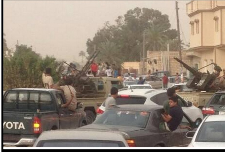 Racdalin greets Libyan Armed Forces, 1
