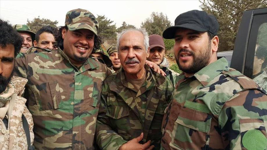 some men of the new Libyan Army