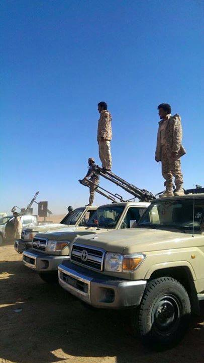 Third Battalion force supporting the Libyan army, 3