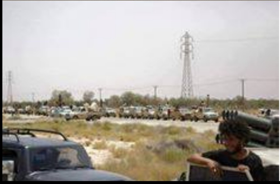 Troops leave Gharyan, 2