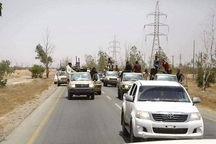 Troops leave Gharyan