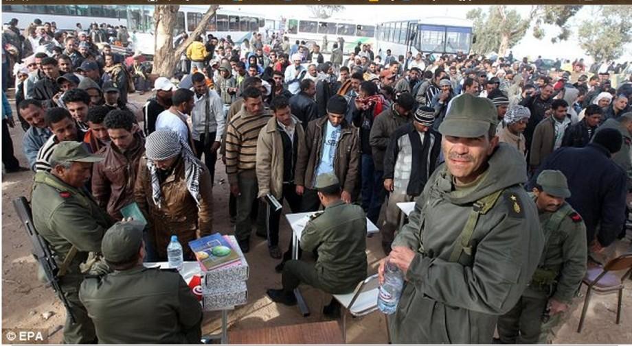 Tunisia helping Libyans