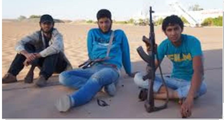 al-KUFRA young rat militias