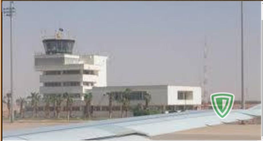 at SEBHA INT. AIRPORT