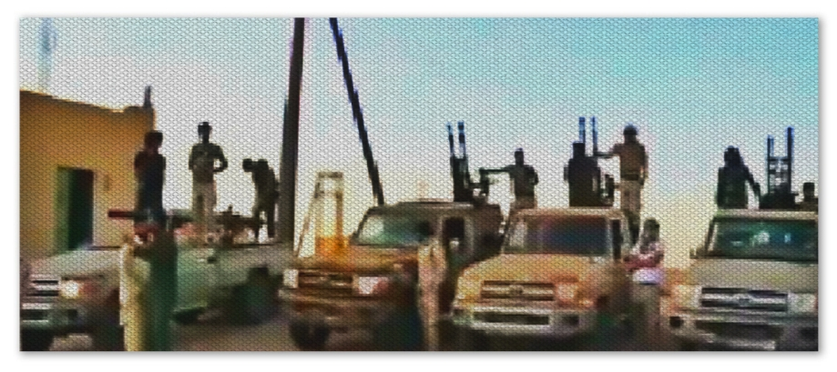 'Battalion 207 of Asbi'a' led by 'Subhi Zgrat'