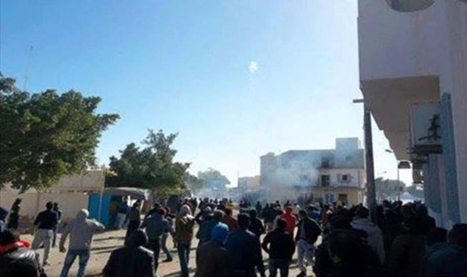 BEN GHARDANE TUNISIAN RESIDENTS  PROTEST