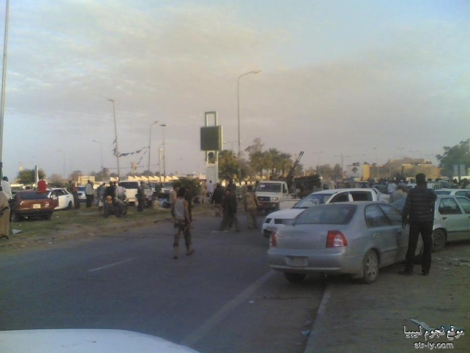 Clashes in Sabha Libya 1