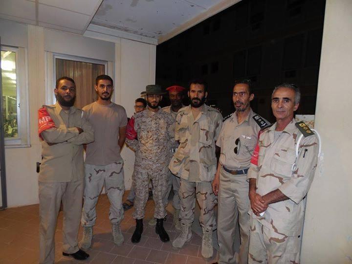 Commanders and Officers of the Western Region meet in GADO, 1