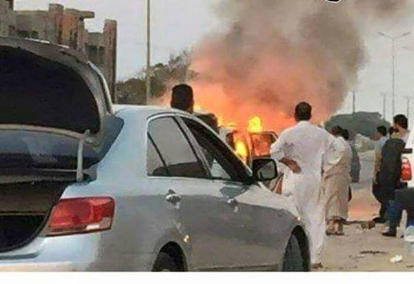 'DAASH' vehicle targeted in Seven, SIRTE