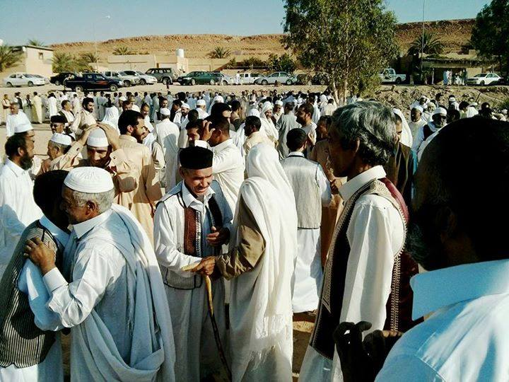 Eid prayers of the layer Jihad Castle and peace