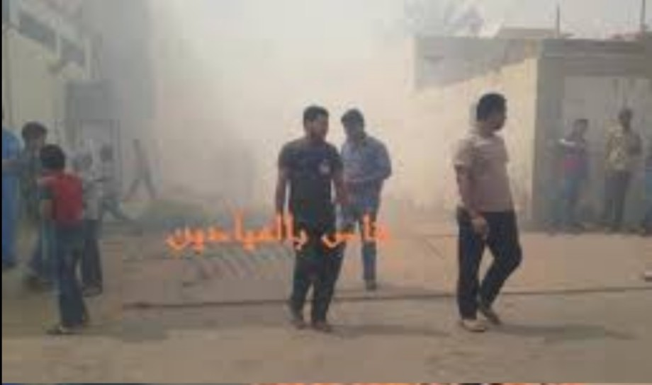 fire broke out at Manshiya in Sabha