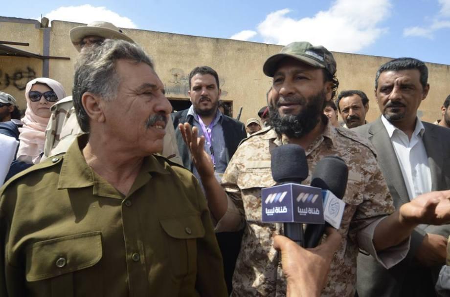 General Omar Tntosh pledges unity