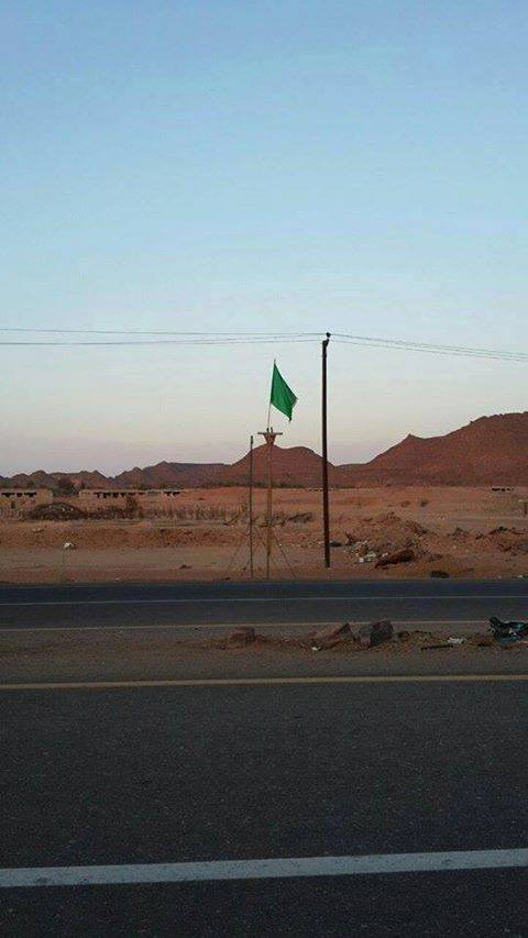 GREEN FLAG FLIES in UBARI !