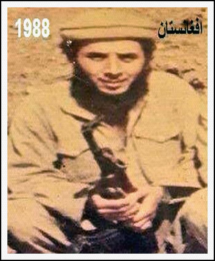 KHALED SHARIF in Afghaistan 1988