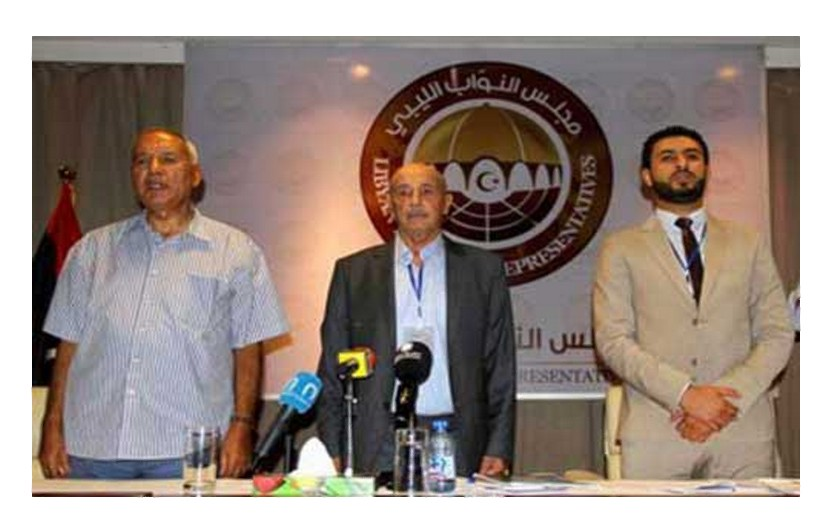 leading deputies of the Libyan MAJLIS al-Nuwaab