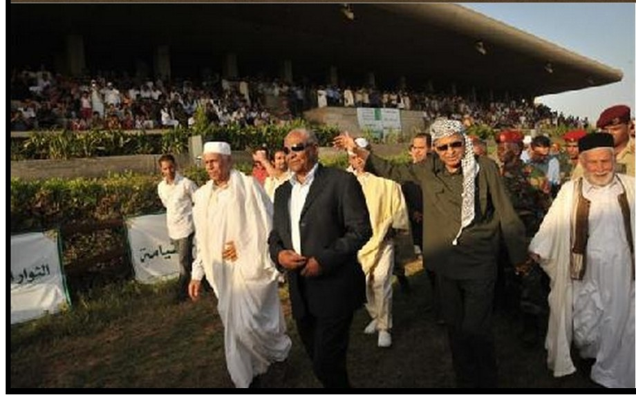 Major General Kawaldy Hamedi, head of the Libyan Association for breeders of Arabian horses was opened on Friday, 14 AUGUST 2009 'sixth World Festival of the horse' events