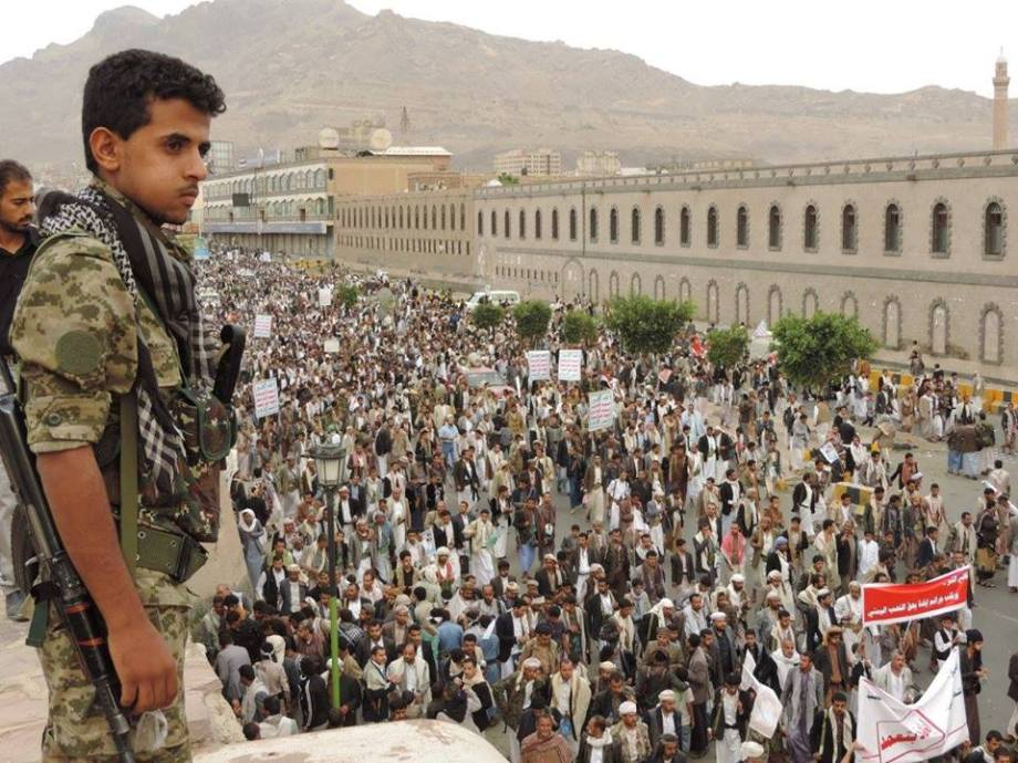 MARCH in SANA'A, YEMEN 24 JULY 2015. 1