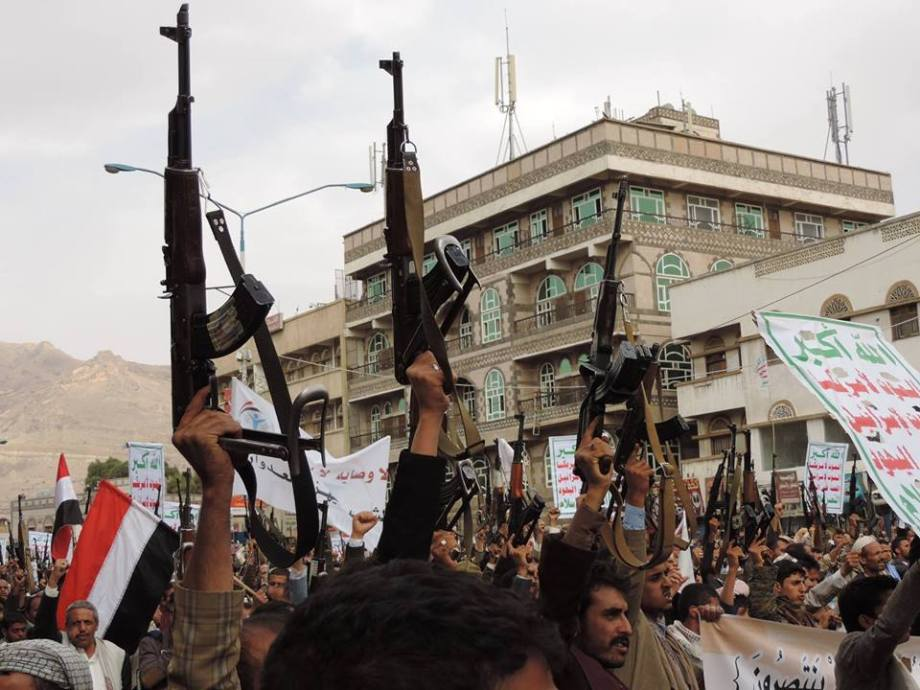 MARCH in SANA'A, YEMEN 24 JULY 2015. 4