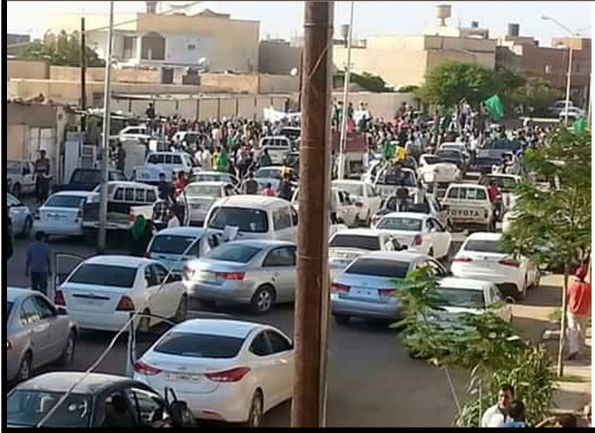 SABHA marches for the GREAT JAMAHIRIYA 28 JULY 2015