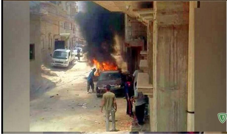 TUBER car bomb of DAASH, in Maghar